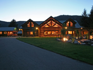Rathdrum Idaho's Premier Luxury Log Estate