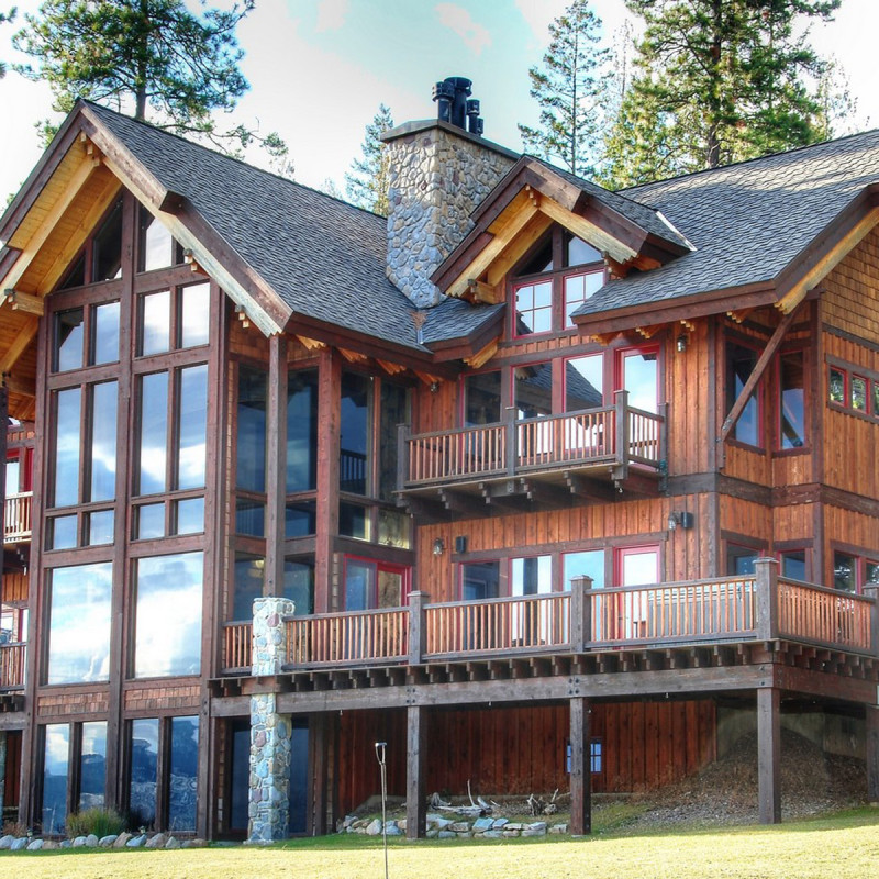 Lakefront Luxury Homes: Lake Pend Oreille Luxury Waterfront