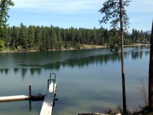 Desirable Spokane River – Coach Lane Estates Building Lot