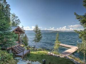 Pristine Lake Pend Oreille Waterfront