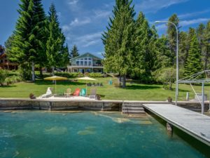 Remarkable Pend Oreille River Waterfront Home